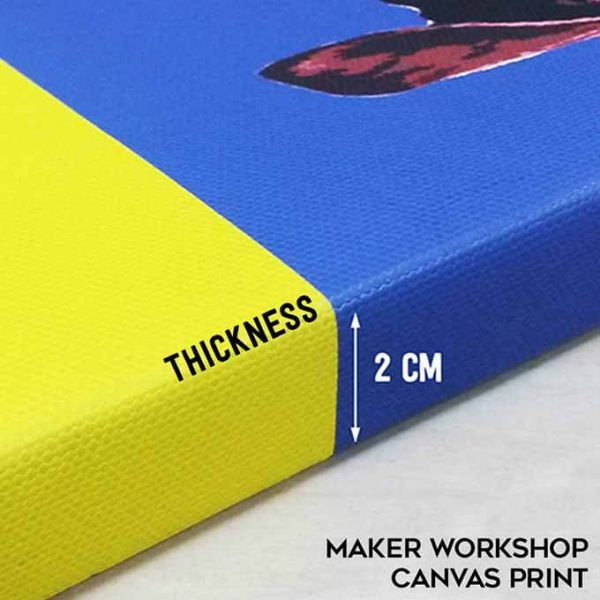 MAKER WORKSHOP CUSTOMIZED CANVAS PRINT