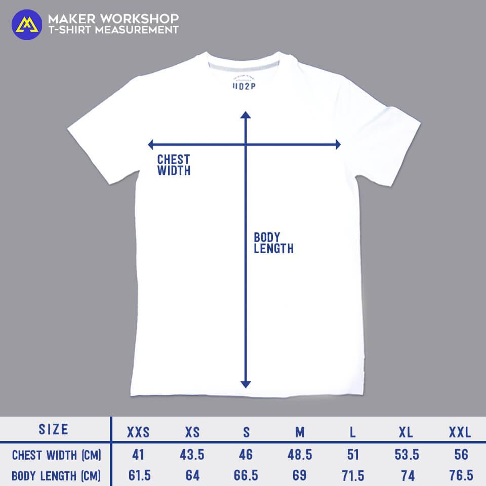 maker workshop t-shirt size hart