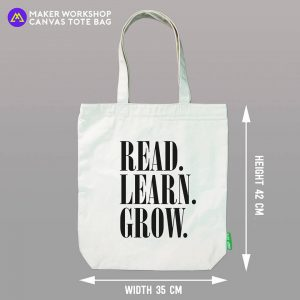 Read Learn Grow Tote Bag