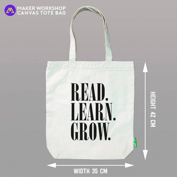 Read Learn Grow Tote Bag