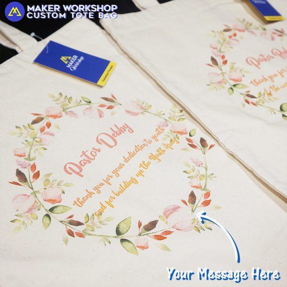 Custom Logo Tote Bags