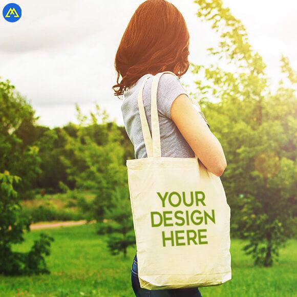 Maker Workshop Customized Canvas Tote Bag