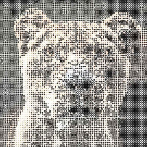 Customized Typo Mosaic Photo Editing Service