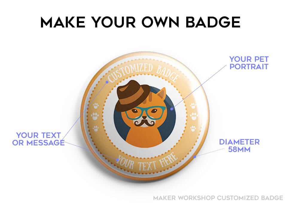 customized badge pin