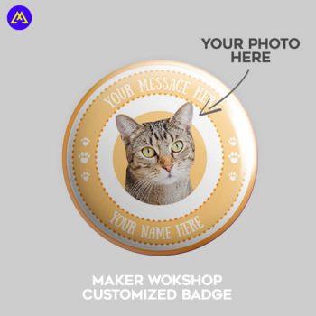 Maker Workshop Customized Badge