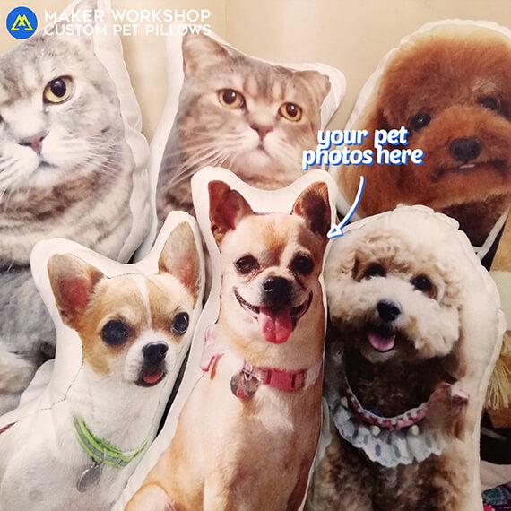 Custom Pet Photo Pillow
