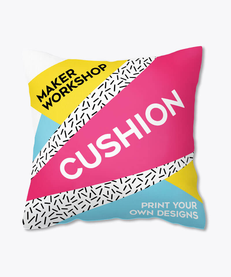 Maker Workshop Customized Cushion Dog