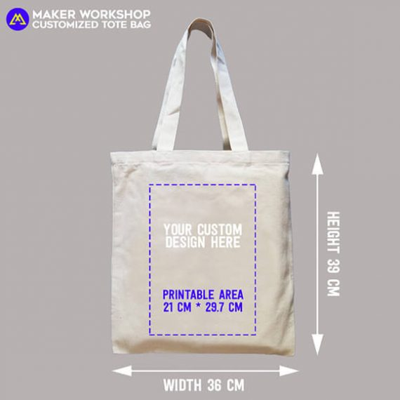 customized tote bag heat transfer printing