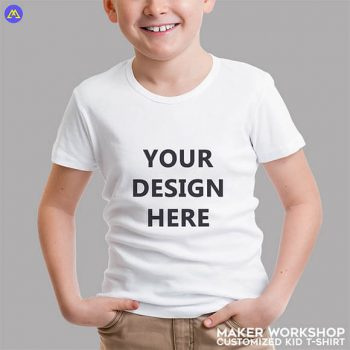 Maker Workshop Customized Kid T-Shirt Printing