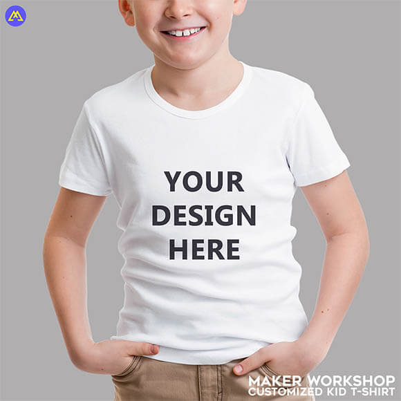 Maker Workshop Customized Kid T-Shirt Printing