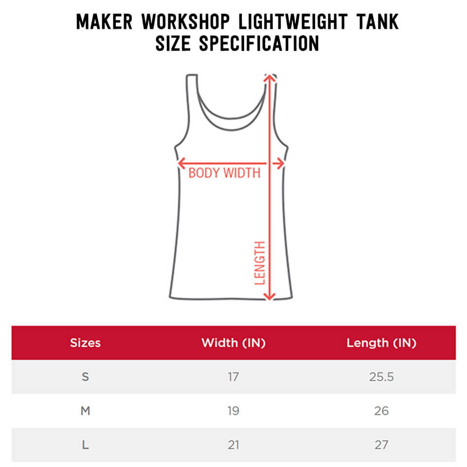 Women's Tank Size Chart